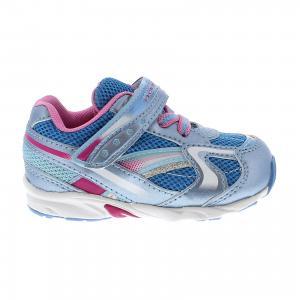 Кроссовки  для девочки Tsukihoshi. Цвет: голубой