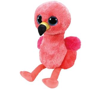 Мягкая игрушка  Гилда фламинго 25 см TY