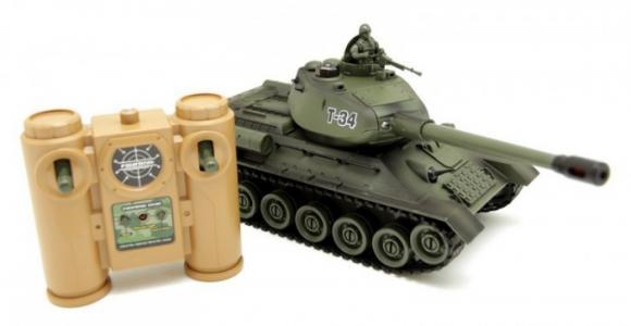 Танк Т-34 на радиоуправлении Balbi
