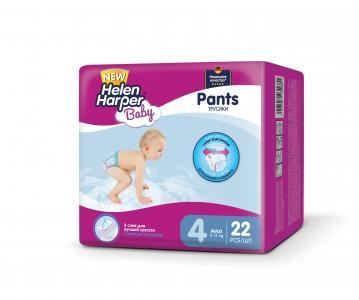 Подгузники-трусики  Baby Maxi (8-13 кг) 22 шт. Helen Harper