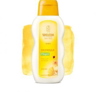 Масло с календулой для младенцев нежным ароматом 200 мл Weleda
