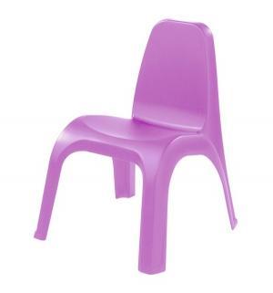 Детский стул пластиковый, цвет:сиреневый