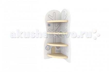 Стеллаж для игрушек угловой DesignToy-3 Ifam