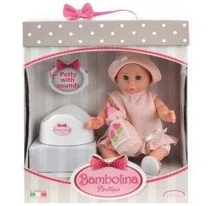 Кукла-пупс Boutique с горшком 36 см Dimian