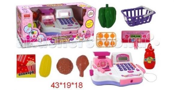 Кассовый аппарат с чеком и набором продуктов Shantou Gepai