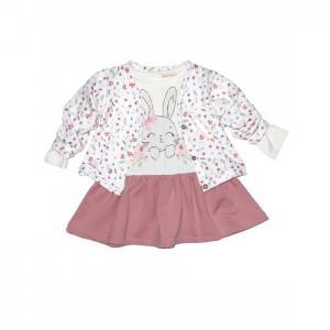 Комплект для девочки жакет и платье Baby Rose