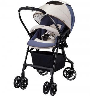 Прогулочная коляска  Mechacal Handy 4cas, цвет: бежевый/синий Combi