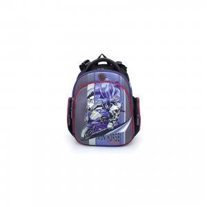 Рюкзак школьный  Мото 16, Мотоцикл + мешок для обуви Hummingbird
