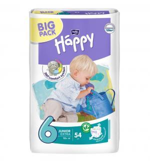 Подгузники  Baby Happy Junior Extra 6 (от 16 кг) 54 шт. Bella