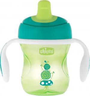Чашка-поильник  с полужестким носиком Training cup, 6 месяцев Chicco