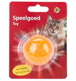 Игрушка для кошек  Мяч светящийся, цвет: оранжевый, 5см I.P.T.S.