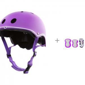 Шлем Junior с комплектом защиты set Globber