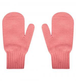 Варежки , цвет: розовый Чудо-кроха