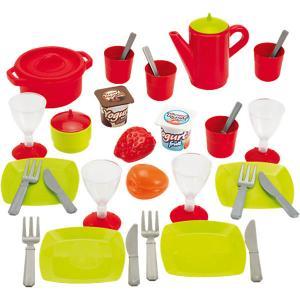 Набор посудки Ecoiffier 36 предметов, в коробке écoiffier