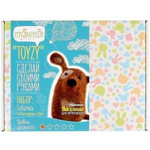 Набор для валяния Toyzy Собачка. Цвет: разноцветный
