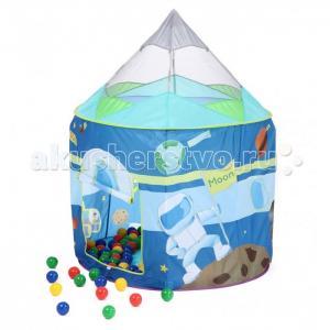 Игровой домик Ракета + 100 шариков Bony