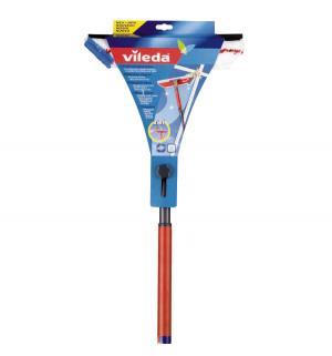 Очиститель  с телескопической ручкой 2 в 1, 80-140 см Vileda