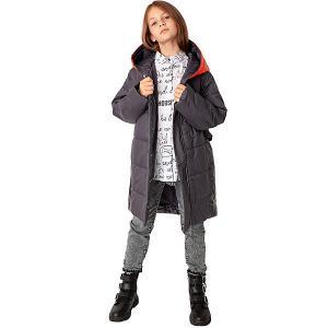 Демисезонная куртка Gulliver. Цвет: серый