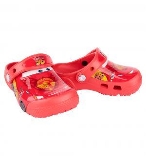 Сабо  FunLab Cars Clog Flame, цвет: красный Crocs