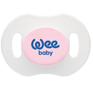 Ночная ортодонтическая соска-пустышка , с рождения, Розовая WeeBaby