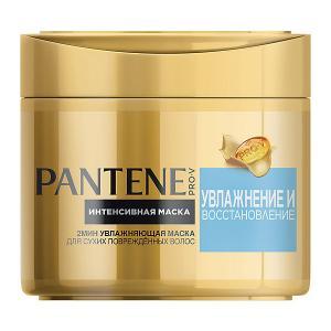 Интенсивная маска для волос  Увлажнение и восстановление 300 мл Pantene