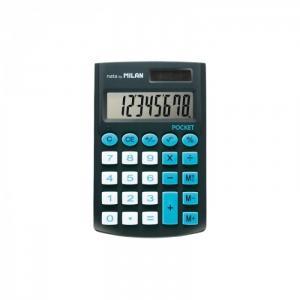 Калькулятор карманный 8 разрядов двойное питание 907х620х80 мм Milan
