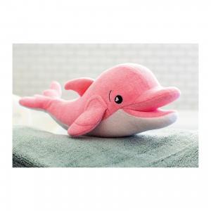 Губка для тела Дельфин Ава, SoapSox. Цвет: розовый