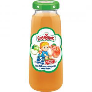 Сок  яблоко-персик, 200 мл Спеленок