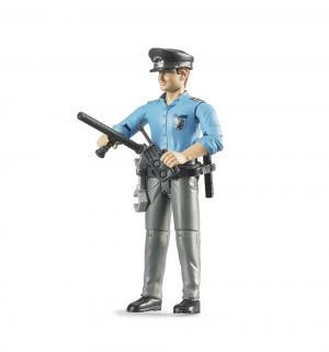 Полицейского с аксессуарами Bruder
