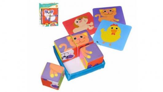 Развивающая игрушка  Мягкие кубики 81070 Parkfield