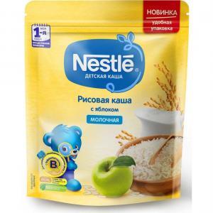 Каша  молочная рисовая с яблоком Моя 1-ая Каша.Продолжаем прикорм 4 месяцев 220 г Nestle
