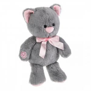 Мягкая игрушка  озвученная Котенок Дымка 23 см Fluffy Family