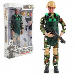 Солдат-спецназовец с подвижными и съемными частями тела снаряжением Veld CO