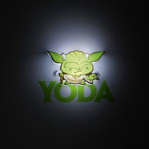 Пробивной мини 3D светильник Йода, Звёздные Войны Детское время