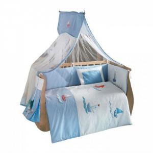 Комплект в кроватку  Marine (6 предметов) Kidboo
