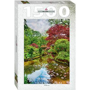 Мозаика puzzle 1500 Нидерланды. Гаага. Японский сад Степ Пазл