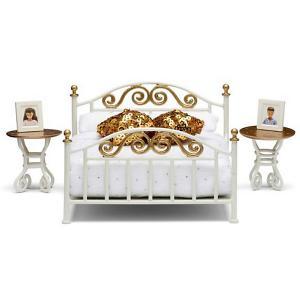 Мебель для домика  Смоланд Спальня в античном стиле Lundby. Цвет: разноцветный