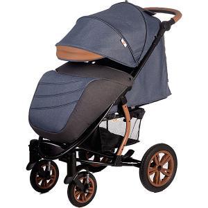 Прогулочная коляска  Tribut, джинс с серым Baby Hit. Цвет: серый деним