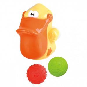 Игровой набор для ванной Пеликан с мячами Playgo