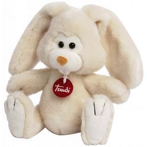 Мягкая игрушка  Заяц Вирджилио, 24 см Trudi. Цвет: бежевый с синевой