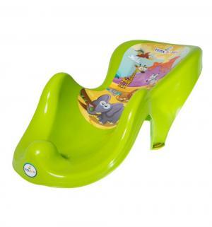 Горка для ванны  Сафари, цвет: зеленый Tega