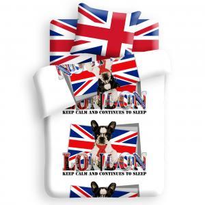 Комплект постельного белья Британец 214 х 150 см, цвет: микс For you