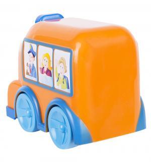 Автобус  с движущимися глазами (оранжевый) Simba