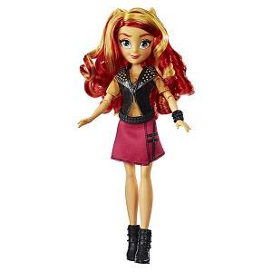 Кукла Equestria Girls Девочки Эквестрии Сансет Шиммер, 28 см Hasbro