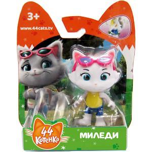 Игровая фигурка  44 котёнка Миледи, 7,5 см Rainbow. Цвет: белый
