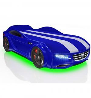 Кровать-машина  Junior Passat, цвет: синий Romack