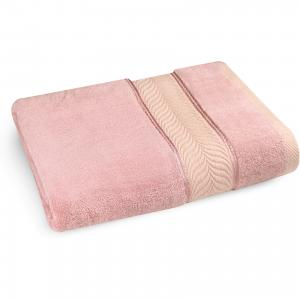 Полотенце махровое 70*140 бамбук, , розовый Cozy Home