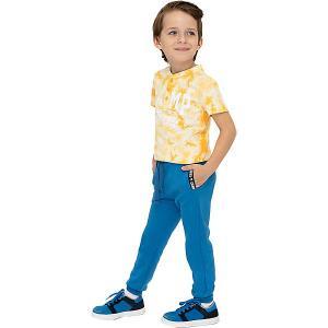 Спортивные брюки Button Blue. Цвет: синий