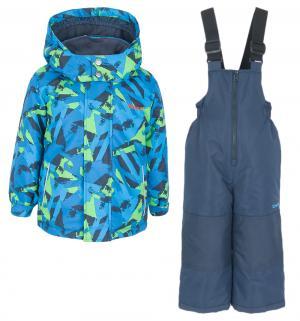 Комплект куртка/полукомбинезон , цвет: голубой/салатовый Zingaro By Gusti