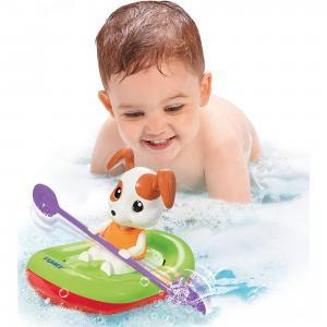 Игрушка для ванны Щенок на лодке, TOMY